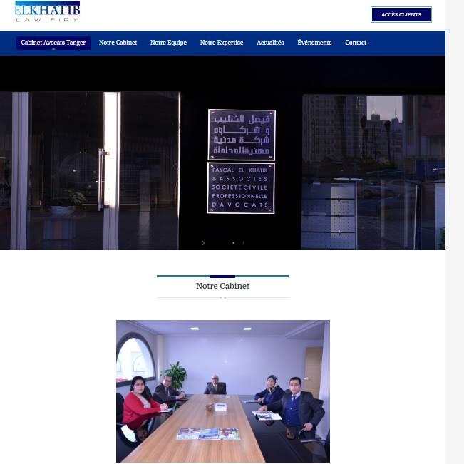 Site Fayçal Elkhatib et Associés S.C.P.A